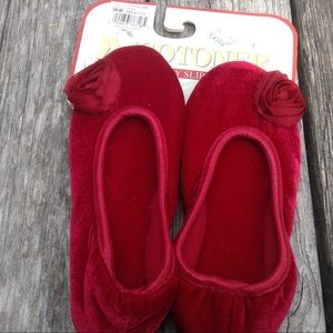 isotoner Shoes - NWT Isotoner  ruby red  slippers